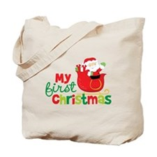Santa My 1st Christmas Tote Bag