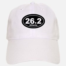 26.2 Atlanta Marathon black Baseball Baseball Cap