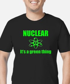 Nuclear Men's Fitted T-Shirt (dark)