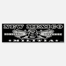 New Mexico Militia II Car Car Sticker