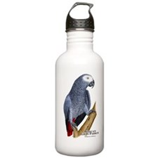 African Gray Parrot Water Bottle