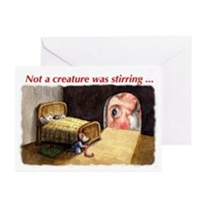 Not a creature was stirring Greeting Cards (Pk of
