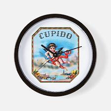 Cupid Cigar Label Wall Clock