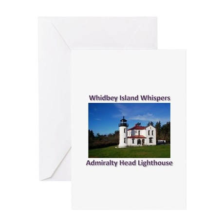 Admiralty Head Inlet Lighthou Greeting Card