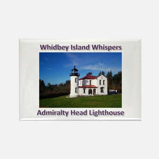 Admiralty Head Inlet Lighthou Rectangle Magnet