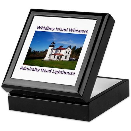 Admiralty Head Inlet Lighthou Keepsake Box