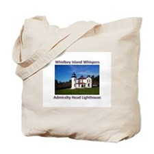 Admiralty Head Inlet Lighthou Tote Bag