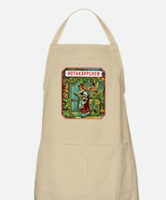 Red Riding Hood Cigar Label Apron
