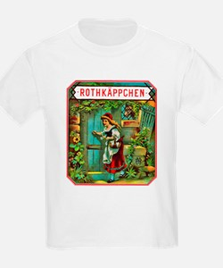 Red Riding Hood Cigar Label T-Shirt