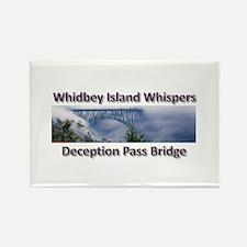 Deception Pass Bridge Rectangle Magnet