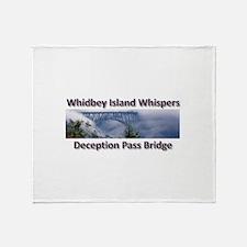 Deception Pass Bridge Throw Blanket
