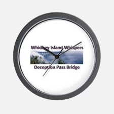 Deception Pass Bridge Wall Clock