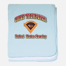 Chief Trumpeter baby blanket