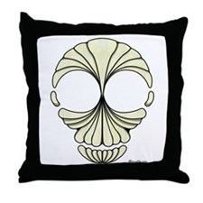 Sea Skull Throw Pillow