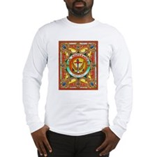 Cuban Art Cigar Label Long Sleeve T-Shirt
