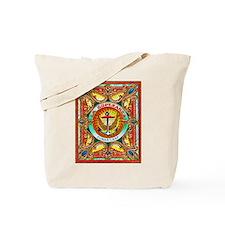 Cuban Art Cigar Label Tote Bag