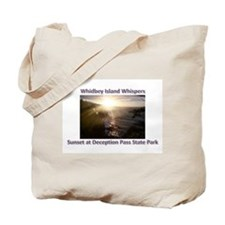 Sunset at Deception Pass Stat Tote Bag