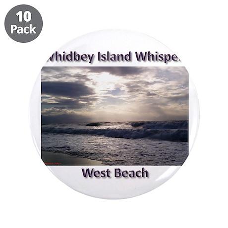 "West Beach 3.5"" Button (10 pack)"