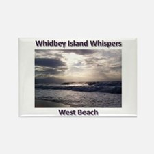 West Beach Rectangle Magnet