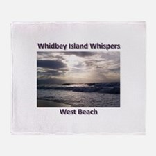 West Beach Throw Blanket