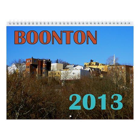 Boonton 2013 Wall Calendar