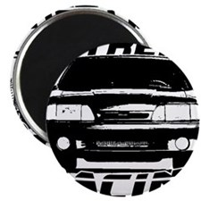 New Mustang Racing Magnet