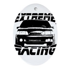 New Mustang Racing Ornament (Oval)