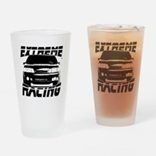 New Mustang Racing Drinking Glass