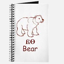 Baby Cherokee Bear Journal