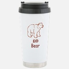 Baby Cherokee Bear Travel Mug