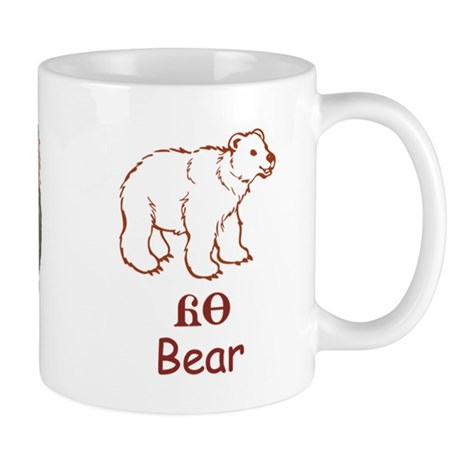 Baby Cherokee Bear Mug