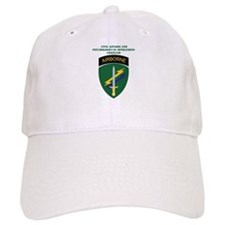 SSI - USACAPOC with Text Baseball Cap