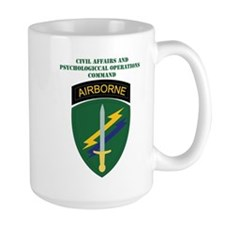 SSI - USACAPOC with Text Mug