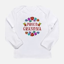 Proud Grandma Long Sleeve Infant T-Shirt