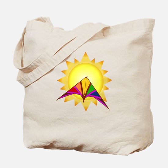 Summer Time Kite Tote Bag