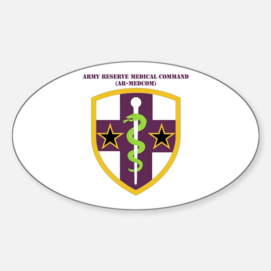 SSI-ARMY RESERVE MEDICAL COMMAND WITH TEXT Decal
