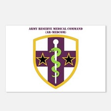 SSI-ARMY RESERVE MEDICAL COMMAND WITH TEXT Postcar