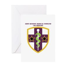 SSI-ARMY RESERVE MEDICAL COMMAND WITH TEXT Greetin