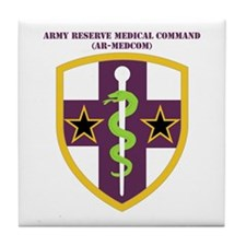 SSI-ARMY RESERVE MEDICAL COMMAND WITH TEXT Tile Co