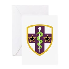 SSI-ARMY RESERVE MEDICAL COMMAND Greeting Card