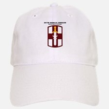 SSI - 807th Medical Support Command with Text Baseball Baseball Cap
