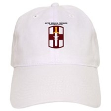 SSI - 807th Medical Support Command with Text Baseball Cap