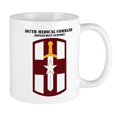 SSI - 807th Medical Support Command with Text Mug