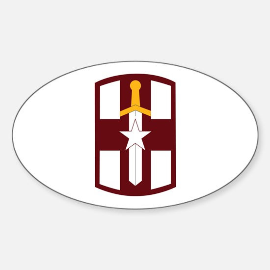 SSI - 807th Medical Support Command Sticker (Oval)