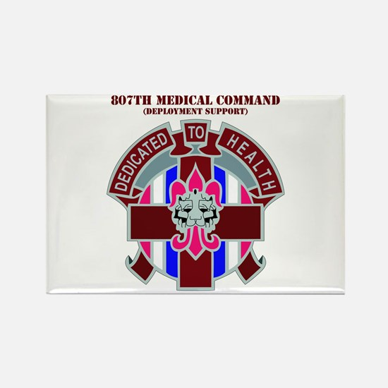 DUI-807TH MEDICAL COMMAND WITH TEXT Rectangle Magn