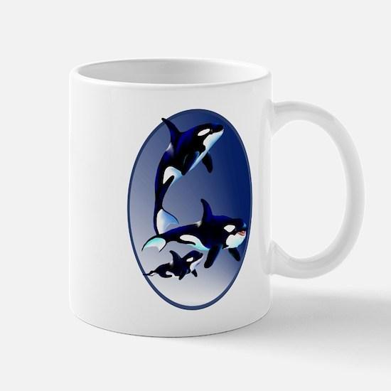 Killer Whale Family Mug