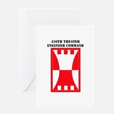 SSI-416TH THEATER ENGINEER COMMAND WITH TEXT Greet
