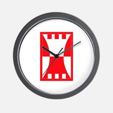 SSI-416TH THEATER ENGINEER COMMAND Wall Clock