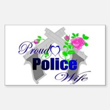"""Police Wife"" Decal"