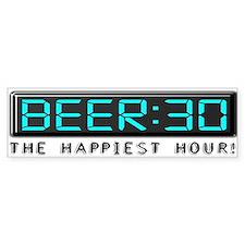 Beer30-10X3Bump Bumper Stickers